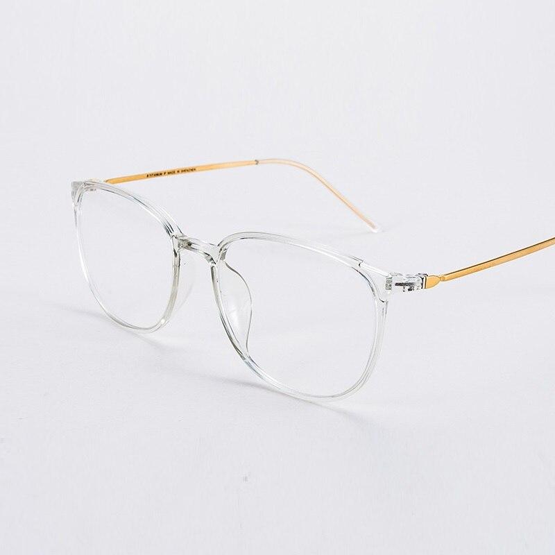 Width-136 Ultra-light B Titanium Temple Glasses Frame For Women Eyewear Retro Transparent Optical Myopia Prescription Glasses