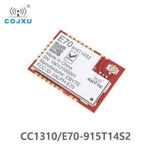 Image 1 - E70 915T14S2 CC1310 915MHz אלחוטי rf מודול CC1310 UART משדר SMD 915M ModuleUART iot משדר ומקלט