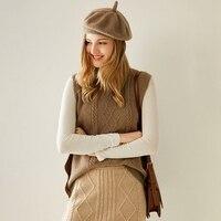 Knit waistcoat vest 2020 Autumn winter new women's wear Korean version loose joker cashmere round neck vest turtleneck sweater