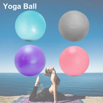Home Fitness Yoga Balls Anti-Pressure Explosion-Proof Gym Balance Exercise Fitball Pilates Workout Massage Ball 75cm 65cm 55cm yoga fitness ball indoor training gym balance fitball exercise pilates workout massage ball 55cm 65cm 75cm 85cm drop shipping