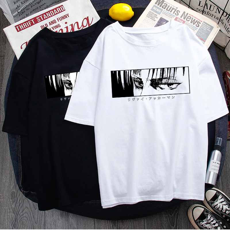 Final Season Attack on Titan Graphic T-shirt Men  Cool Tshirt Titans Attack Shingeki No Kyojin T Shirt Anime Top Tees Male
