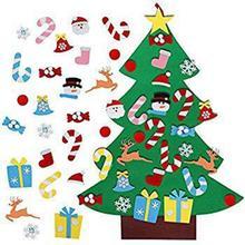 Рождественское украшение детская ручная работа Сделай Сам трехмерная фетровая ткань Рождественская елка висячая
