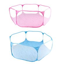 Cage Playpen Exercise Hexagon-Tent Dog Small Pet Foldable Rabbit Breathable Hamster Yard