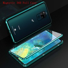 Luxury Aluminum Metal Magnetic Case For Huawei Mate20X P30 P30Pro Mate20 Mate20Pro 360 Protective Back Covers  KS0322
