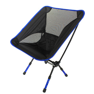 Image 5 - Outdoor aluminum alloy Ultralight Portable Folding stool mazha camping fishing chair small seat Beach chairs Free shipping