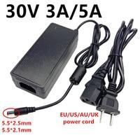 30V3A 30V5A universal 30 Volt ac dc Power Adapter Adapter 30 V 3A 5A AC 110V 220V zu 30 volt 30 V Netzteil ac/dc adaptador