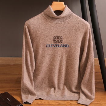 Sweter męski 100 kaszmirowy sweter z dzianiny gorąca sprzedaż miękki sweter z golfem jesienno-zimowa wysoka klapa sweter z wełny sweter męski tanie i dobre opinie TLYUEHANZE CN (pochodzenie) MT-88380145 W języku angielskim elementy Smart Casual CASHMERE Komputery dzianiny Skręcić w dół kołnierz