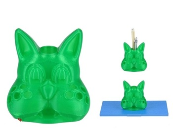 Cat pen holder Custom order high quality high precision digital models 3D printing service Artistic things ST2572