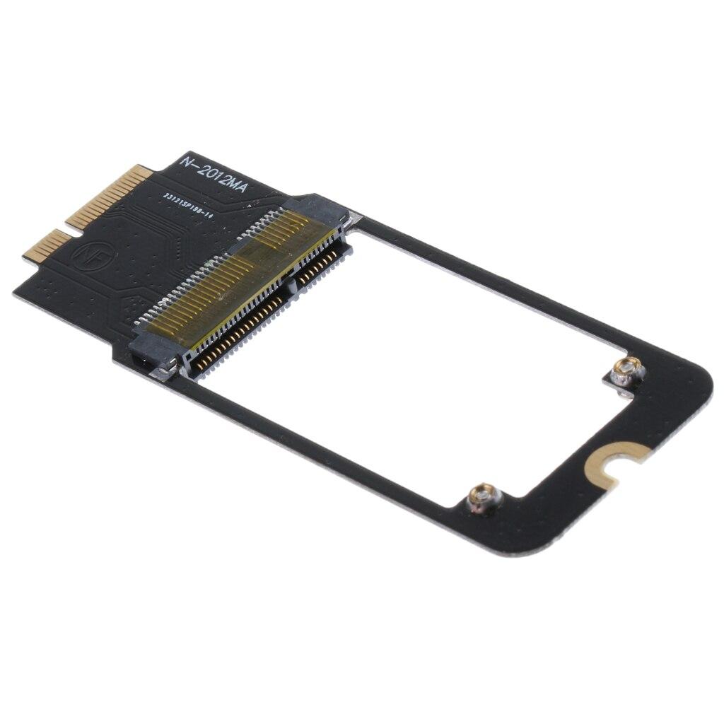 7 17Pin 5cm mSATA SSD Adapter Card for font b APPLE b font font b MACBOOK