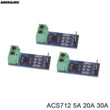 Venda quente acs712 5a 20a 30a gama salão módulo de sensor atual acs712 módulo para arduino 5a 20a 30a