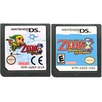 Karta konsoli DS kartridż z grą legenda serii Zel da język angielski dla Nintendo DS 3DS 2DS