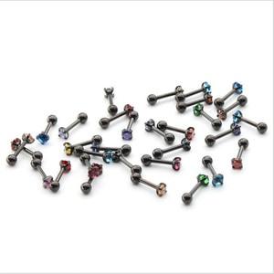 316 серьги-гвоздики из нержавеющей стали с закручивающейся задней частью с супер мини 2 мм AAA Colorfuls круглая серьга с цирконами IP покрытие без аллергии
