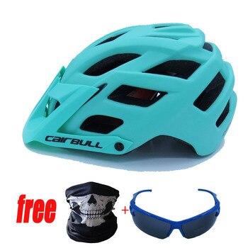 Cairbull trail xc capacete de bicicleta, capacete de segurança para ciclismo mtb super mountain bike ciclismo 55-61cm 1