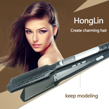 Honglin Professional Steam Hair Straightener LCD Display