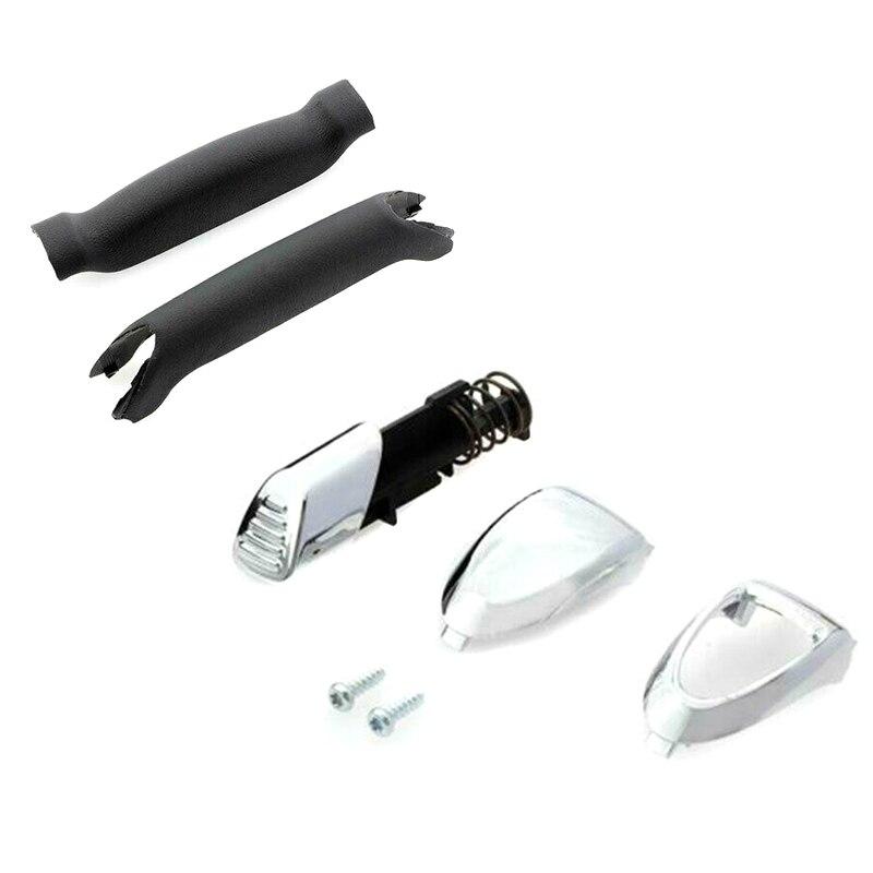 Handbrake Handle Repair Kit Soft Feel Parking Hand Brake Stop Handle For Ford Galaxy S-Max NR-shipping