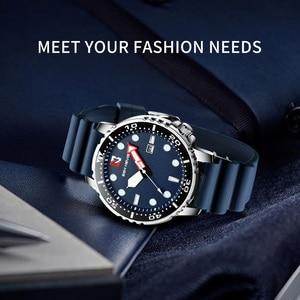 Image 2 - Fashion Military Black Men Watch Top Brand Luxury Waterproof Big Size Time zone circle Design Quartz Watch Men Relogio Masculino