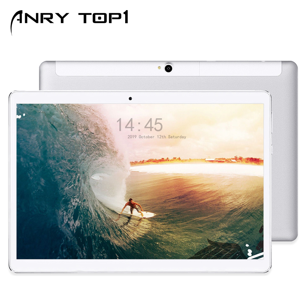 Tablet 10.1 Inch Deca Core 8GB+128GB 1920x1200 HD IPS 13MP Camera 4G Lte Dual SIM Wifi Android 9.0 Game Phablet