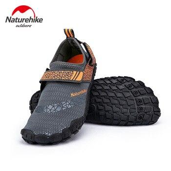 Naturehike-zapatos acuáticos de secado rápido para hombre y mujer, calcetines de baño de secado rápido, zapatilla de playa, zapatillas de playa