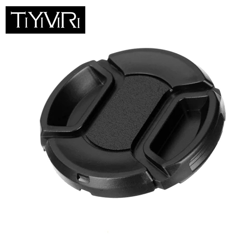 TiYiViRi <font><b>Lens</b></font> <font><b>Cap</b></font> 49 52 55 58 62 <font><b>67</b></font> 72 77 82mm Universal Camera <font><b>Lens</b></font> <font><b>Cap</b></font> Holder Protection Cover For Canon Nikon Sony Olypums image