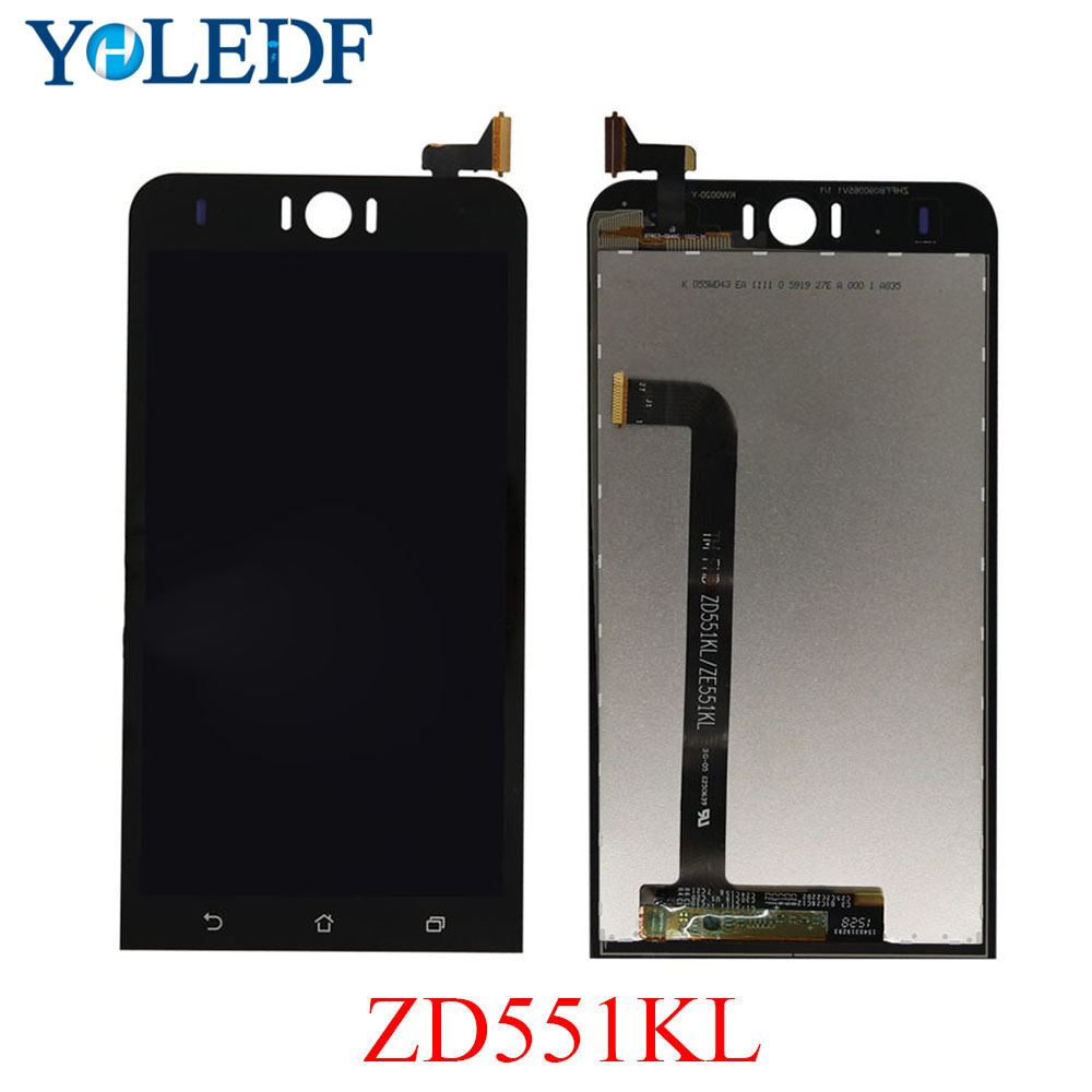 High <font><b>LCD</b></font> For <font><b>Asus</b></font> <font><b>Zenfone</b></font> <font><b>Selfie</b></font> <font><b>ZD551KL</b></font> <font><b>LCD</b></font> Display touch Screen panel Z00UD Z00UDB Digitizer Sensor Assembly Replacement Part image