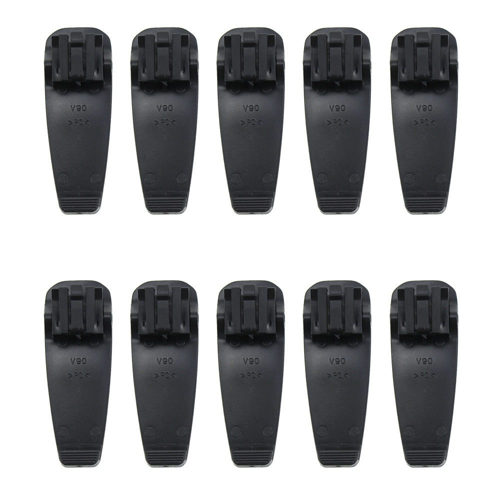 10X BP-265 BP-265LI Battery Belt Clip For ICOM IC-F4002 IC-F3003 IC-F4003 IC-T70A IC-T70E IC-V80 IC-V80E