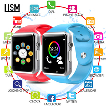 Android Wear A1 Smart Wrist Watch Bluetooth Waterproof GSM Phone Large-Capacity SIM SMS for Android Samsung IPhone стоимость