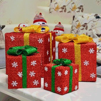New Christmas Gift Box Packaging Decorations Scene Tree With