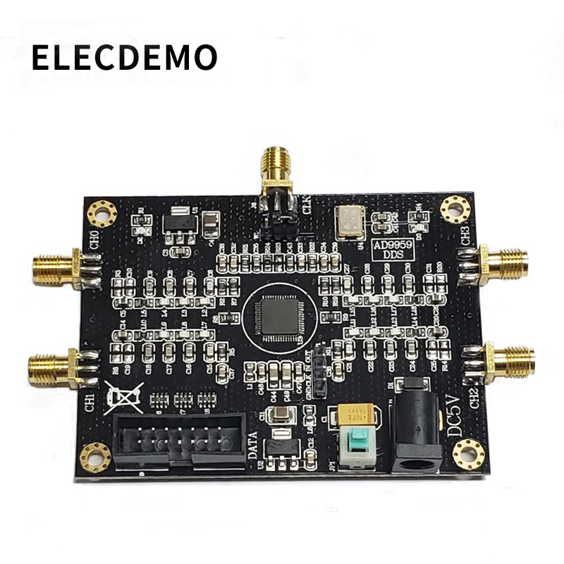 AD9959 Module RF Signal Source AD9959 Signal Generator Four-channel DDS Module Performance Far Exceeds AD9854