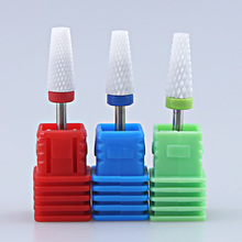 Nail Drill Bit Ceramic Milling Cutter For Manicure Machine Pedicure Tools