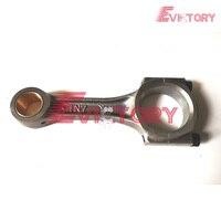 Dla yanmar oryginalny nowy 3D82 3TNE82 3TNE82A 3TNV82 korbowód + łącznik w Tłoki  pierścienie  drążki i części od Samochody i motocykle na