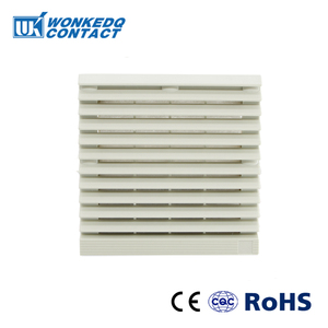 Cabinet Ventilation Filter Set Shutters Cover Fan Waterproof Grille Louvers Blower Exhaust FK-9803-300 Panel Without Fan(China)