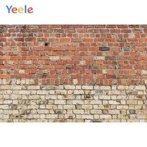 Image 4 - Fondos fotográficos personalizados de pared de ladrillo azul Yeele para sesión de fotos de bebés