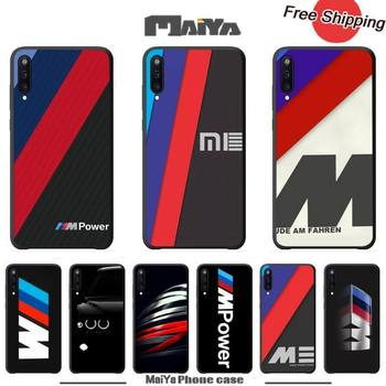 Maiya Hot Car BMW Logo Luxury Phone Case Coque For Samsung Galaxy A 01 11 20 30 31 40 50 51 70 71 80 81 91 Silicone Cases Coque image