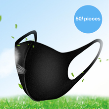 Black space cotton mask for men and women in spring and summer fashion