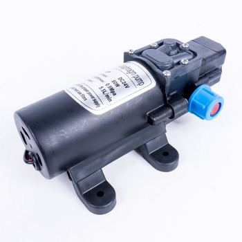 Electric 24V 80W 5.5L/min Water Film High Pressure Self-Priming Pump Durable Micro Diaphragm Water Pump Sprayer Car Wash 24V image