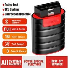 Thinkdiag carro obd2 scanner bluetooth srs abs com ecu ferramenta de verificação codificação pk easydiag com 3 software livre