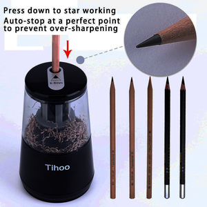 Image 2 - TENWIN Dual Power Multifunction Automatic Electronic Electric Pencil Sharpener Mechanical Usb For Kids Material Escolar 8008