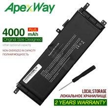 Аккумулятор ApexWay 7,4 в 4000 мАч B21N1329, Asus D553M F453 F453MA F553M P553 P553MA X453 X453MA X553 X553M X553B X553MA X503M X403M