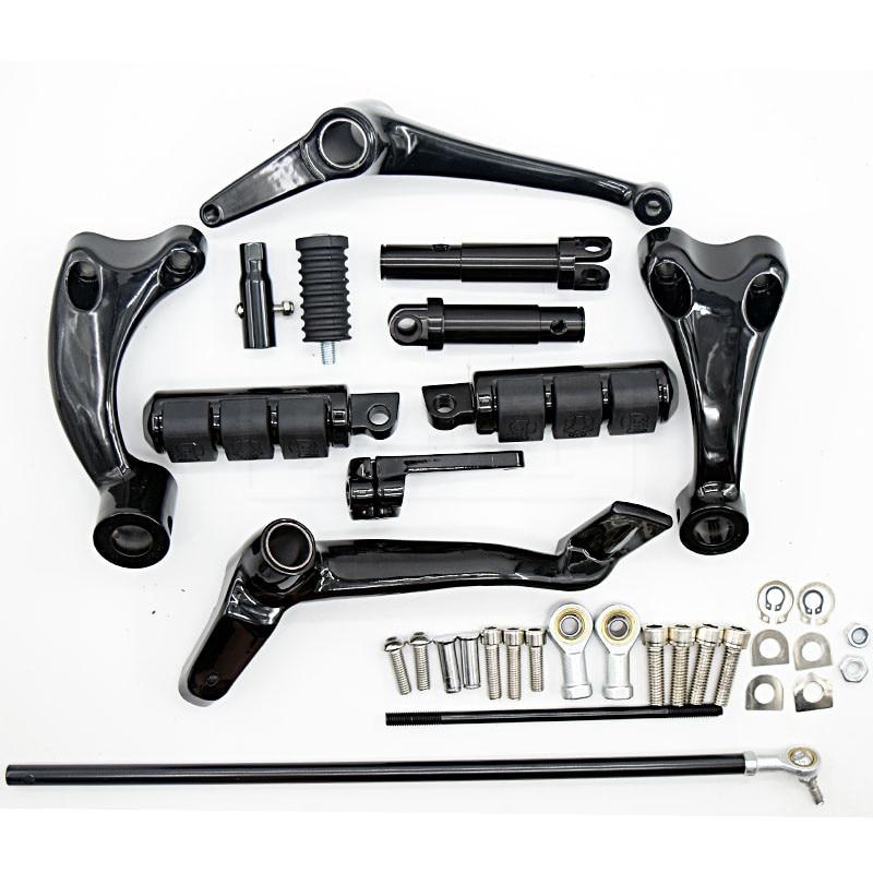 XL 883 pour Harley Sportster XL883 XL1200 XL883N Iron 883 2014-2018 moto commandes avant repose-pieds leviers et biellettes