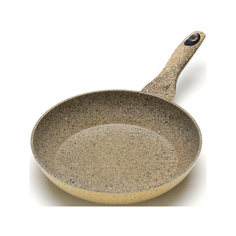 Frying Pan MAYER & BOCH, 24 cm, beige granite frying pan tradition granite 24 cm