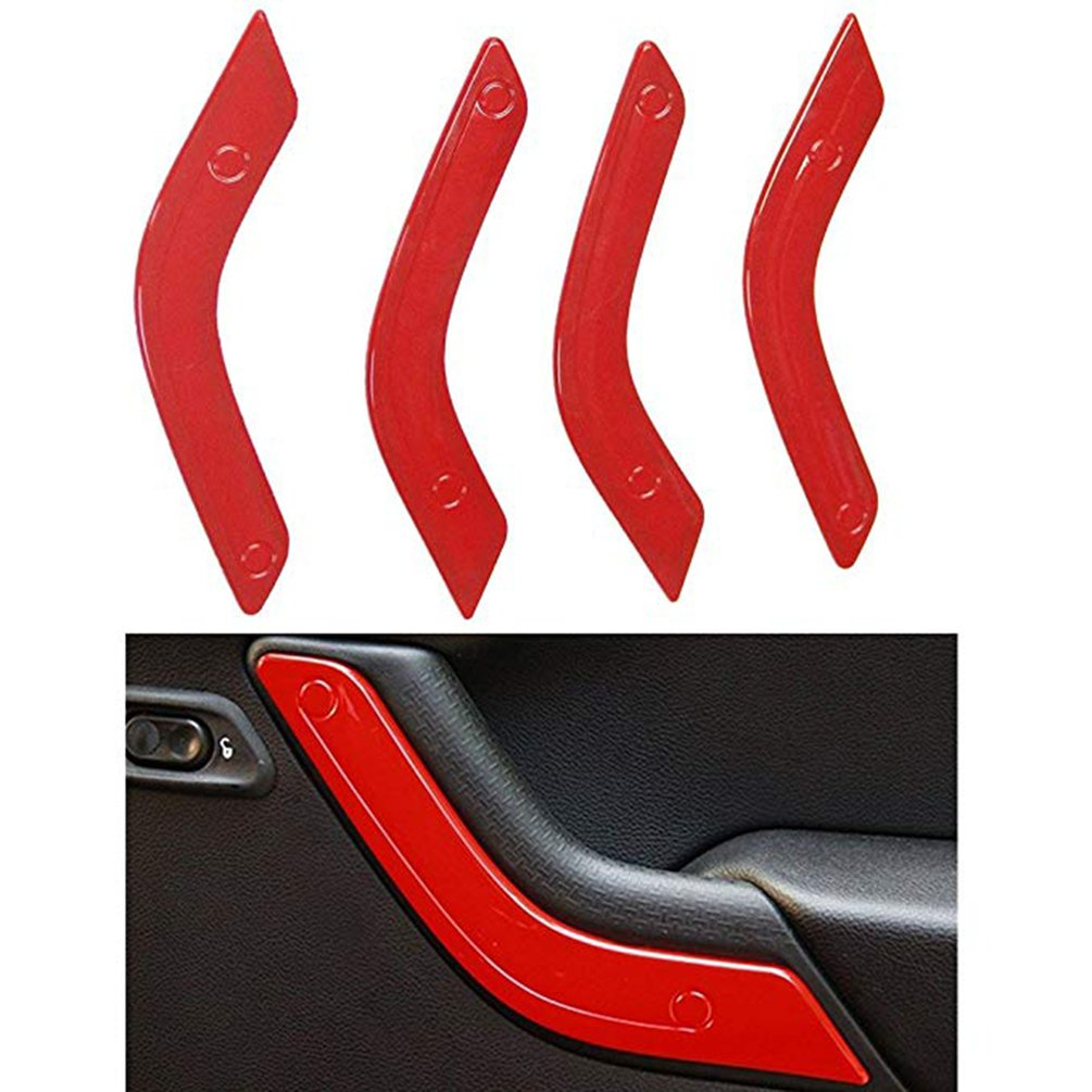 Car Interior Parts Interior Accessories Abs Decorative Strips 12Pcs Set For Wrangler 11-17 Years Car Accessories