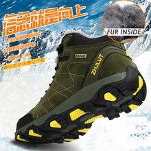 Мужские походные ботинки для осени и зимы, женские кроссовки, обувь для скалолазания, тактическая охотничья обувь, новая классическая мужская спортивная обувь для активного отдыха