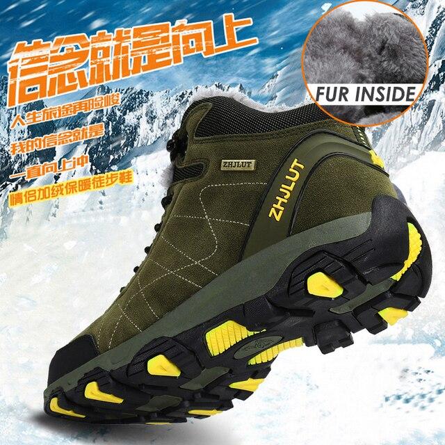 סתיו חורף Mens טיולים מגפי נשים של נעלי ספורט נעלי טיפוס הרים טקטי ציד הנעלה חדש קלאסי חיצוני ספורט גבר