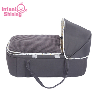 baby bed portable baby bassinet bed comfortable newborn travel bed cradle safety infant bassinet cribs Infant Shining Portable Baby Bed Cradle Kid Bassinet Basket Multifunctional Movable Cot Cradle Comfortable Safety Travel Bed