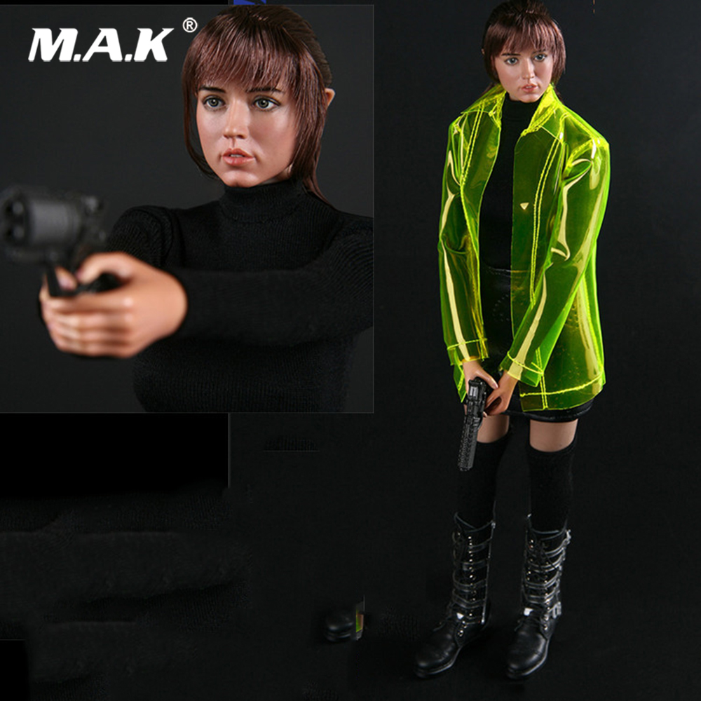 BBT9010 1/6 GUESS ME SERIES VIRTUAL GIRL Blade Runner Virtual Women Suit Figure with Double Head Sculpt Model Toy for S18A Body