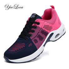 Basket Femme Womens Sneakers Breathable Tenis Feminino Lace Up Outdoor Leisure