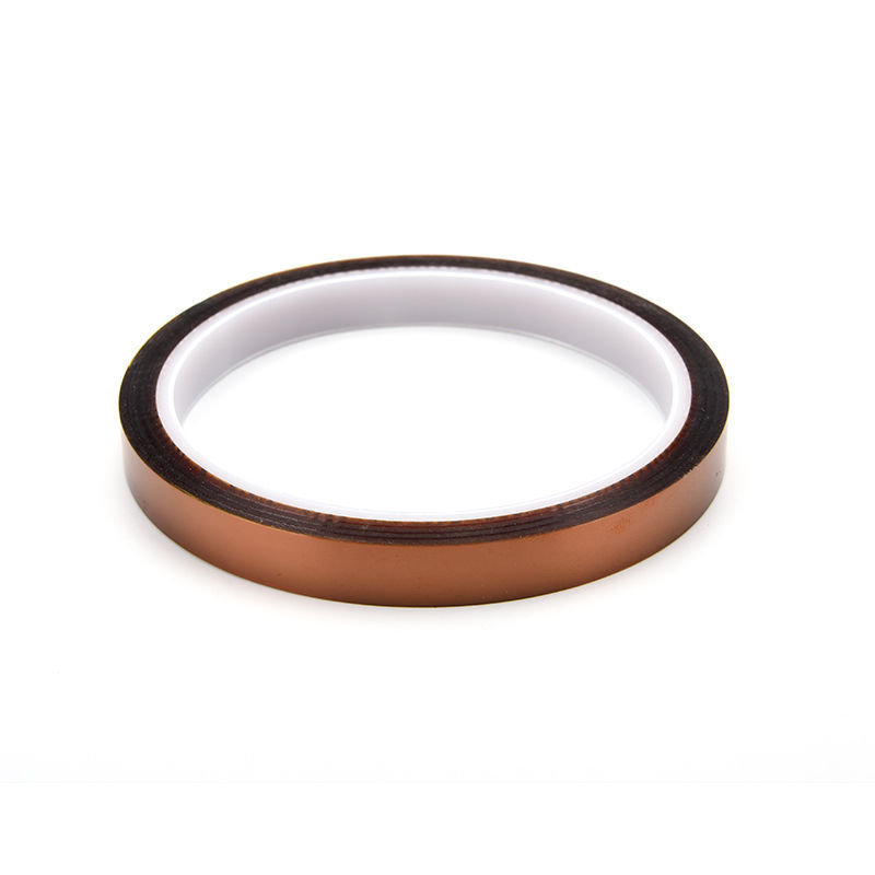 10mm X 33m One-side Self-adhesive High Temperature Heat Resistant Polyimide Tape Hot New