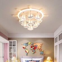 New Pirate dream LED Ceiling Lights for children room study  kids lights modern ceiling lamp plafonnier led avize lustre