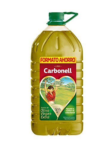 Spanish Olive Oil Carbonell Extra Virgin 5Liters
