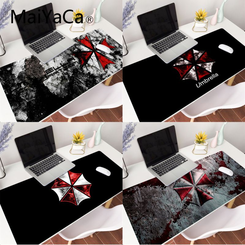 MaiYaCa Umbrella Gaming <font><b>Mouse</b></font> <font><b>Pad</b></font> Gamer Mousepad <font><b>XXL</b></font> <font><b>Large</b></font> Desk Mat Computer Keyboard Game Play Mat Mause Carpet <font><b>Mouse</b></font> <font><b>Pad</b></font> image